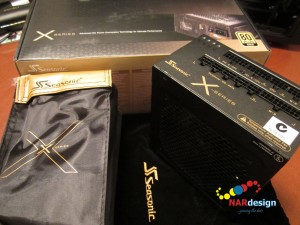 Seasonic X-Series 660W Gold PSU and accessories