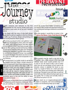 NAR Design's The Journey Studio Issue1 September 2013