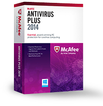 McAfee Antivirus Plus from NAR Design