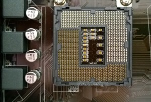 Custom build CPU socket