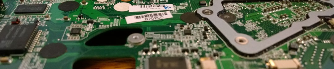 NAR Design laptop motherboard