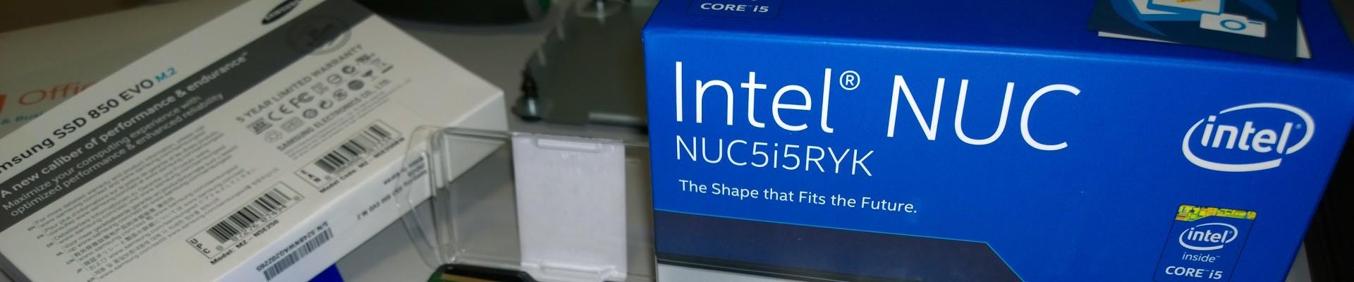 NAR Design Intel NUC build