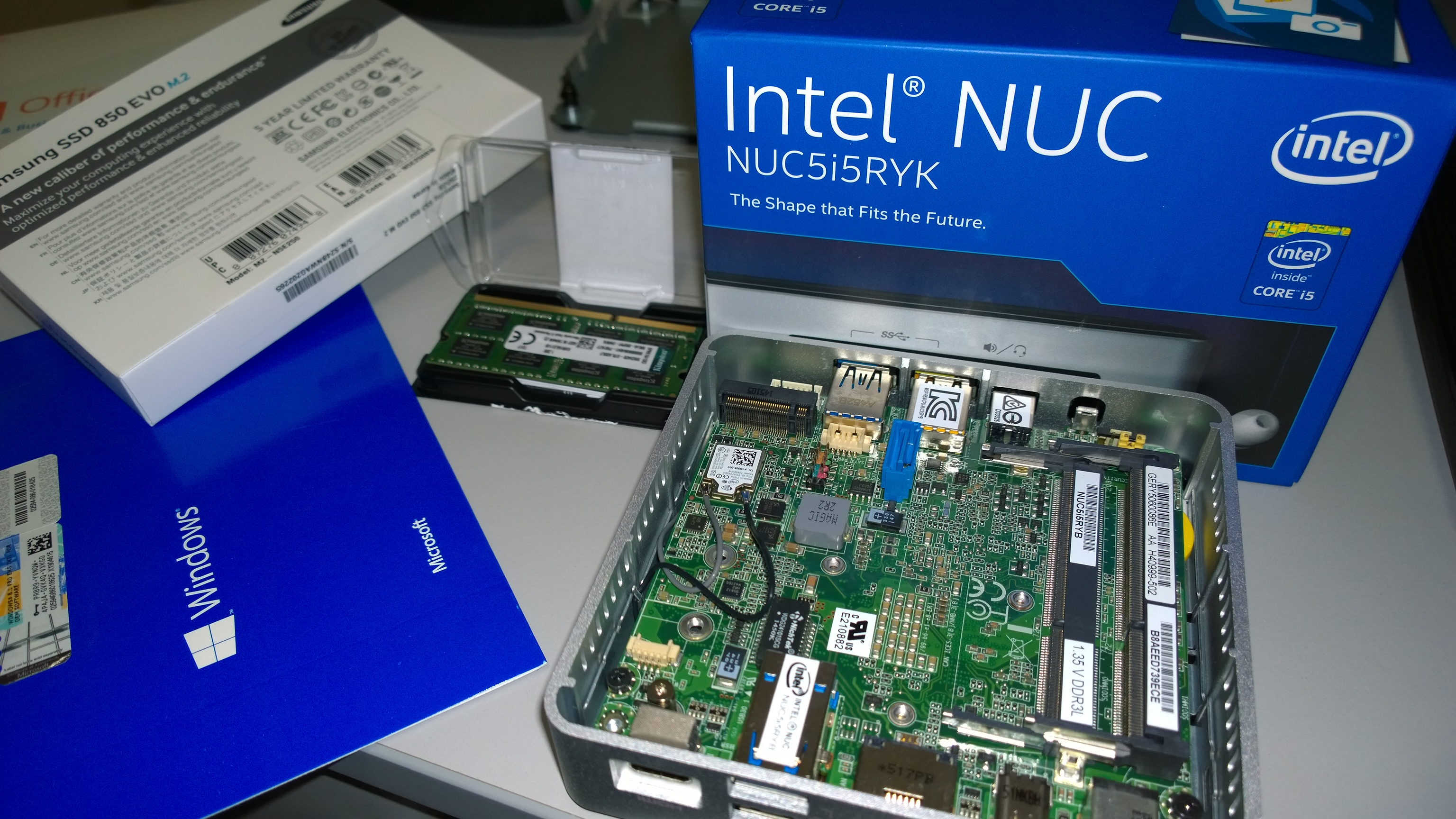 NAR Design Intel NUC build - NAR Design