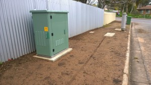 NBN FTTN Node in Lee St Clare - NAR Design